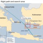AirAsia Flight Path & Search Area